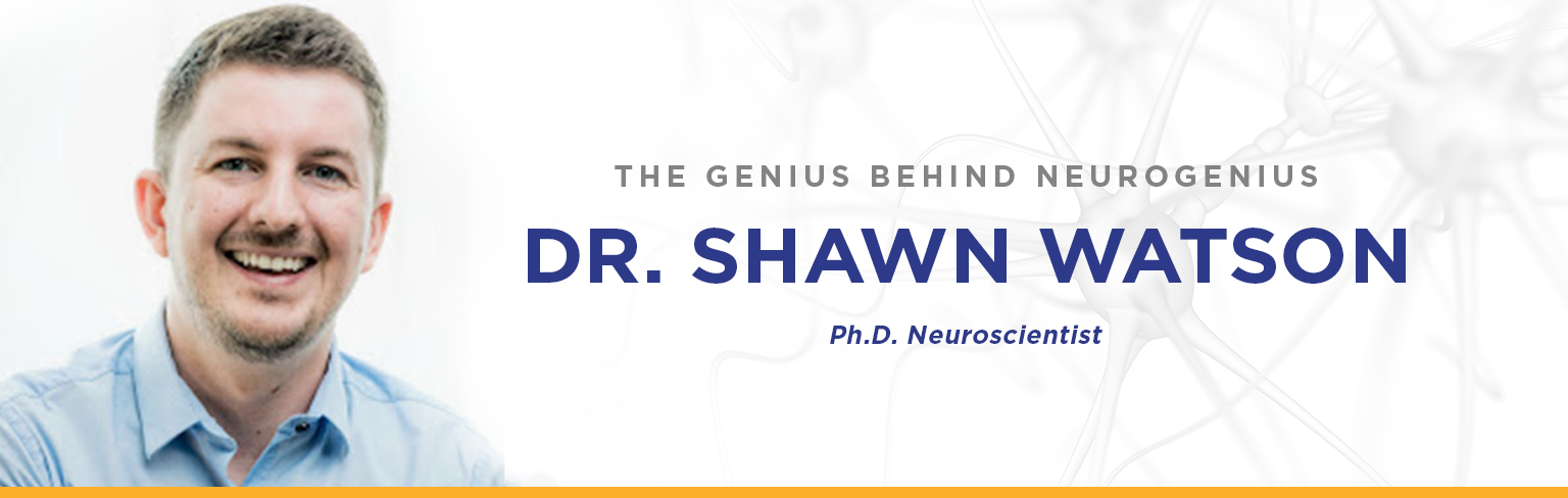 Dr Shawn Watson, Neuroscientist. PHD